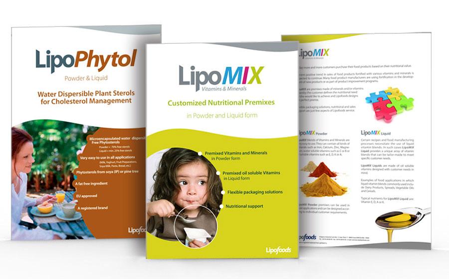 Fichas de producto Lipofoods 1