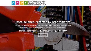 Web Instalaciones y Reformas
