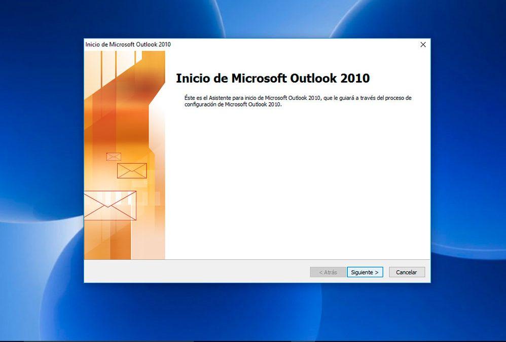 Outlook: Configurar desde cero
